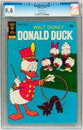 Bronze Age (1970-1979):Cartoon Character, Donald Duck #146 (Gold Key, 1972) CGC NM 9.4 White pages....