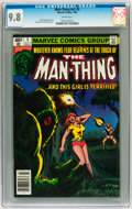 Modern Age (1980-Present):Horror, Man-Thing V2#5 (Marvel, 1980) CGC NM/MT 9.8 White pages....
