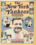 Baseball Collectibles:Publications, New York Yankees and Other Major League Legends Multi SignedBook....