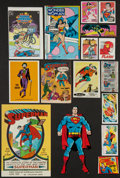 Non-Sport Cards:Lots, 1960's Comic-Related Cards, Wrappers and Collectibles Collection (139 Items). ...