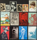 Non-Sport Cards:Lots, Early Stage, Movie & TV Stars and Pin Ups Collection (59 items). ...