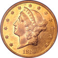Liberty Double Eagles, 1885 $20 MS61 PCGS. CAC....