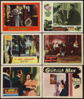 """Movie Posters:Horror, The Revenge of Frankenstein Lot (Columbia, 1958). Lobby Cards (6) (11"""" X 14""""). Horror.. ... (Total: 6 Items)"""