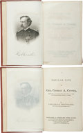 Books:Americana & American History, [George Custer]. Frederick Whittaker. A Popular Life of Gen.George A. Custer. New York: Sheldon & Company,[187...