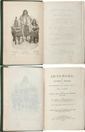Books:Americana & American History, Henry B. Carrington. INSCRIBED. Ab-sa-ra-ka; or, Wyoming Opened: Being the Experience of an Officer's ...