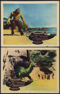 """Movie Posters:Fantasy, The 7th Voyage of Sinbad (Columbia, 1958). Lobby Cards (2) (11"""" X 14""""). Fantasy.. ... (Total: 2 Items)"""
