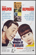 "Movie Posters:Romance, Paris When it Sizzles (Paramount, 1964). One Sheet (27"" X 41""). Romance.. ..."