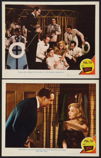 """Song of the Thin Man (MGM, 1947). Lobby Cards (2) (11"""" X 14""""). Mystery. ... (Total: 2 Items)"""