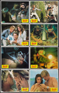"Movie Posters:Adventure, The Deep (Columbia, 1977). Lobby Card Set of 8 (11"" X 14"").Adventure.. ... (Total: 8 Items)"
