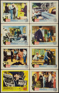 """Movie Posters:Crime, Inside the Mafia (United Artists, 1959). Lobby Card Set of 8 (11"""" X 14""""). Crime.. ... (Total: 8 Items)"""