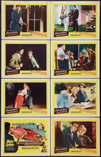 """The Long Wait (United Artists, 1954). Lobby Card Set of 8 (11"""" X 14""""). Film Noir. ... (Total: 8 Items)"""