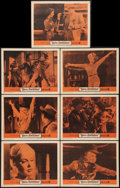 """Movie Posters:Bad Girl, Born Reckless (Warner Brothers, 1959). Lobby Cards (7) (11"""" X 14"""").Bad Girl.. ... (Total: 7 Items)"""
