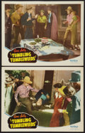 """Movie Posters:Western, Tumbling Tumbleweeds (Republic, R-1940s). Autographed Lobby Cards (2) (11"""" X 14""""). Western.. ... (Total: 2 Items)"""