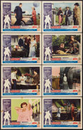 "Movie Posters:Science Fiction, The Amazing Transparent Man (Miller-Consolidated Pictures, 1959).Lobby Card Set of 8 (11"" X 14""). Science Fiction.. ... (Total: 8Items)"