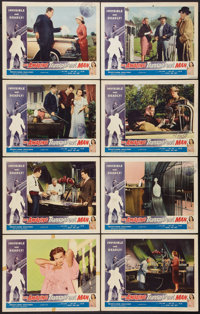 """The Amazing Transparent Man (Miller-Consolidated Pictures, 1959). Lobby Card Set of 8 (11"""" X 14""""). Science Fic..."""
