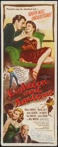 "Movie Posters:Drama, Eighteen and Anxious (Republic, 1957). Insert (14"" X 36""). Drama.. ..."