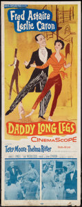 "Movie Posters:Musical, Daddy Long Legs (20th Century Fox, 1955). Insert (14"" X 36""). Musical.. ..."