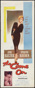 "Movie Posters:Film Noir, The Come On (Allied Artists, 1956). Insert (14"" X 36""). Film Noir.. ..."