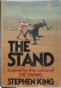 "Books:Horror & Supernatural, Stephen King. The Stand. Garden City: Doubleday &Company, Inc., 1978. First edition (with ""T39"" in the gutter ofth..."
