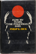 Books:Science Fiction & Fantasy, Philip K. Dick. Flow My Tears, the Policeman Said. Garden City: Doubleday & Company, Inc., 1974. First edition. ...