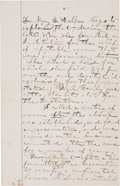 Autographs:Celebrities, Mary Edwards Walker Autograph Manuscript Signed in the Text, With aSecond Signature in the Docket....