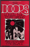 Music Memorabilia:Posters, The Doors Cow Palace Concert Poster BG-187 (Bill Graham, 1969)....