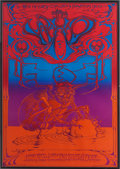 Music Memorabilia:Posters, The Who Hollywood Palladium Concert Poster (Magic Circus, 1969)....