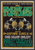 Music Memorabilia:Posters, The Turtles Fillmore Auditorium Concert Poster BG-15 (Bill Graham,1966)....