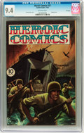 Heroic Comics #27 File Copy (Eastern Color, 1944) CGC NM 9.4 Off-white pages