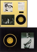 Music Memorabilia:Recordings, Buddy Holly Posthumous Record Display Group (1962-69).... (Total: 2 Items)