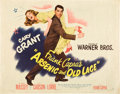"Movie Posters:Comedy, Arsenic and Old Lace (Warner Brothers, 1944). Half Sheet (22"" X28"") Style B.. ..."