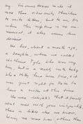 """Autographs:Inventors, J. Robert Oppenheimer Autograph Letter Signed. Three pages, 6"""" x8.5"""", [Los Alamos] New Mexico, January 15 [1945]. Penned on..."""