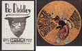 Music Memorabilia:Posters, Bo Diddley Concert Poster Group (1968-74).... (Total: 2 Items)