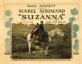 """Movie Posters:Comedy, Suzanna (Allied Producers and Distributors, 1923). Title Lobby Cardand Lobby Card (11"""" X 14"""").. ... (Total: 2 Items)"""