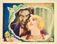"The Haunted House (First National, 1928). Lobby Card (11"" X 14"")"