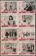 """Movie Posters:Rock and Roll, Go Go Mania (American International, 1965). Lobby Card Set of 8(11"""" X 14""""). Rock and Roll.. ... (Total: 8 Items)"""