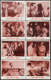 "Hot Rods to Hell (MGM, 1967). Lobby Card Set of 8 (11"" X 14""). Cult Classic. ... (Total: 8 Items)"