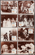 "Movie Posters:Drama, Two Weeks in September (Paramount, 1967). Lobby Card Set of 8 (11"" X 14""). Drama.. ... (Total: 8 Items)"