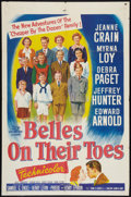 """Movie Posters:Romance, Belles on Their Toes (20th Century Fox, 1952). One Sheet (27"""" X 41""""). Romance.. ..."""
