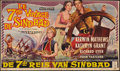 "Movie Posters:Fantasy, The 7th Voyage of Sinbad (Columbia, 1958). Belgian (11.5"" X19.25""). Fantasy.. ..."