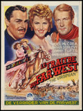 "Movie Posters:Western, The Virginian (Paramount, 1946). Belgian (14.25"" X 19""). Western.. ..."