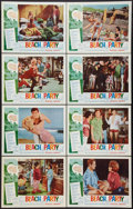 """Movie Posters:Comedy, Beach Party (American International, 1963). Lobby Card Set of 8 (11"""" X 14""""). Comedy.. ... (Total: 8 Items)"""