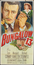 """Movie Posters:Mystery, Bungalow 13 (20th Century Fox, 1948). Three Sheet (41"""" X 81"""").Mystery.. ..."""