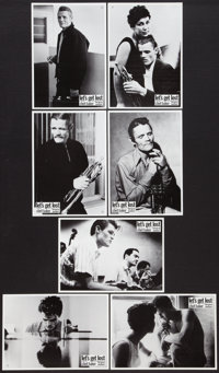 "Let's Get Lost (Zeitgeist, 1988). German Lobby Cards (7) (8.5"" X 11.75""). Documentary. ... (Total: 7 Items)"
