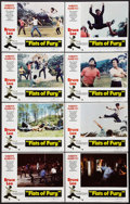 "Movie Posters:Action, Fists of Fury (National General, 1973). Lobby Card Set of 8 (11"" X14""). Action.. ... (Total: 8 Items)"