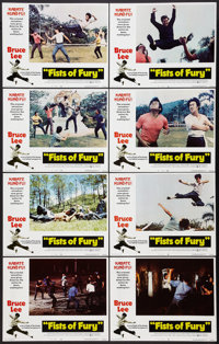 """Fists of Fury (National General, 1973). Lobby Card Set of 8 (11"""" X 14""""). Action. ... (Total: 8 Items)"""