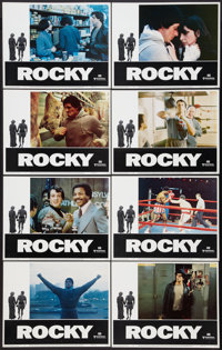 "Rocky (United Artists, 1977). Lobby Card Set of 8 (11"" X 14""). Academy Award Winners. ... (Total: 8 Items)"
