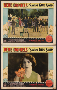 "Swim Girl, Swim (Paramount, 1927). Lobby Cards (2) (11"" X 14""). Comedy. ... (Total: 2 Items)"