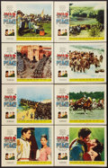 "Movie Posters:Drama, War and Peace (Paramount, R-1963). Lobby Card Set of 8 (11"" X 14""). Drama.. ... (Total: 8 Items)"