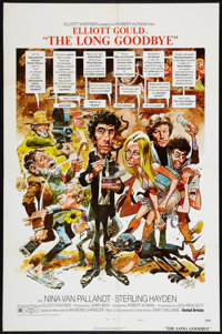 """The Long Goodbye (United Artists, 1973). One Sheet (27"""" X 41"""") Style C. Crime"""